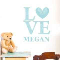 Personalised LOVE Eggshell Wall Art Decoration