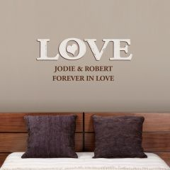 Personalised Love Wall Art Decoration