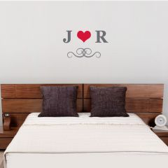 Personalised Monogram Wall Art Decoration