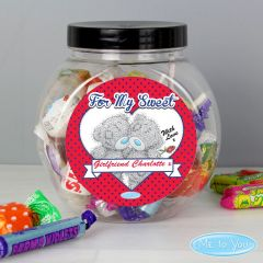 Personalised Me to You Couple Sweet Jar Gift