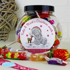 Personalised Me To You Reindeer Sweet Jar Gift