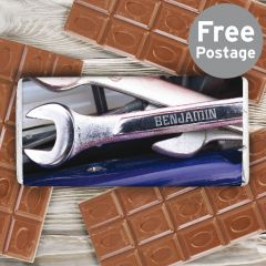 Personalised Tool Kit Chocolate Bar
