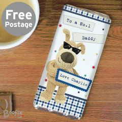 Personalised Boofle Bear Stars Milk Chocolate Bar