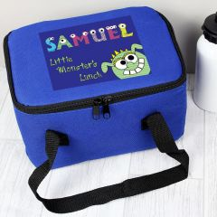 Personalised Little Monster Childrens Lunch Bag
