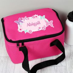 Personalised Butterfly Childrens Lunch Bag