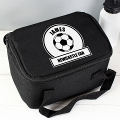 Personalised Football Fan Childrens Lunch Bag