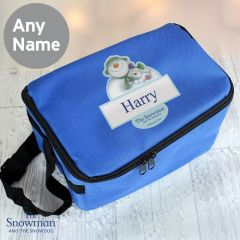 Personalised The Snowman and the Snowdog Childrens Lunch Bag