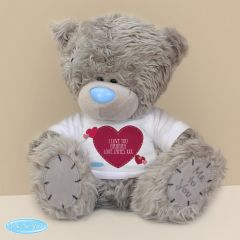 Personalised Me To You Teddy Bear with Heart T-Shirt