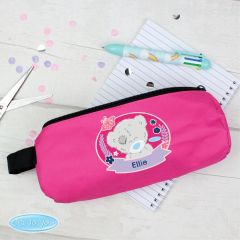 Me To You Personalised Pink Pencil Case