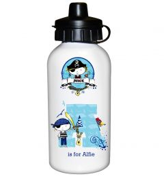 Personalised Pirate Letter Design Drinks Bottle