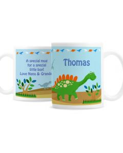Personalised Dinosaur Design Mug