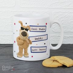 Personalised Boofle Bear Stars Mug