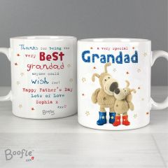 Personalised Boofle Bear Special Grandad Mug