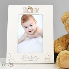 Personalised Boofle Baby Photo Frame 6x4
