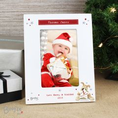 Personalised Boofle My 1st Christmas Photo Frame 6x4