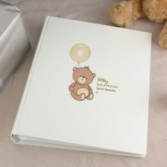 Personalised Teddy Traditional Photo Album