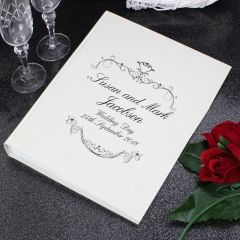 Personalised Ornate Swirl Design Album with Sleeves