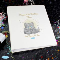 Personalised Me To You Gold Stars Photo Album with Sleeves