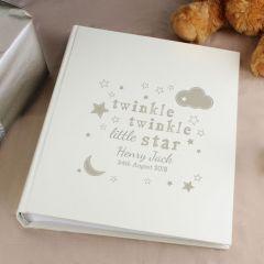 Personalised Twinkle Twinkle Photo Album with Sleeves