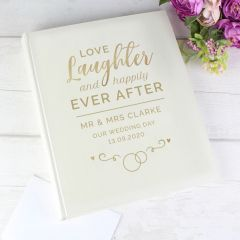 Personalised Happily Ever After Traditional Photo Album