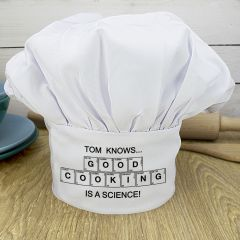Good Cooking Is Science Chef Hat