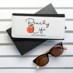 Peachy Life Black Wallet