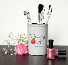 Peachy Life Brush Holder