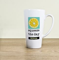 Squeeze The Day Latte Mug