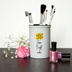 Shine Bright Brush Holder