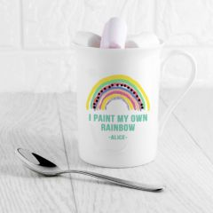 My Own Rainbow Bone China Mug