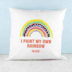 My Own Rainbow Square Cushion Cover
