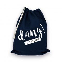 Personalised Dang Drawstring Bag