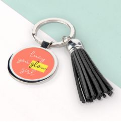 You Glow Girl Tassle Keyring