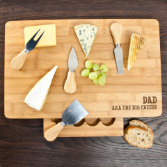 The Big Cheese Large Bamboo Cheese Board