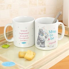 Me To You Personalised Mum to Be Mug