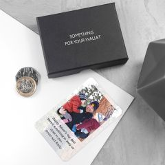 Personalised Dad's Photographic Wallet Keepsake