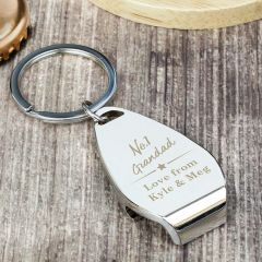 Personalised The No.1 Bottle Opener Keyring
