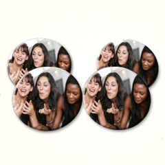 4 Personalised Photograph Coasters