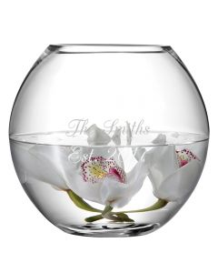Personalised Engraved Round Fishbowl Vase