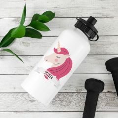 Personalised Sparkle Squad Water Bottle