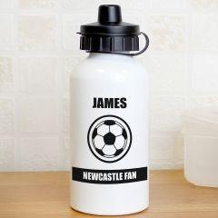 Personalised Football Fan Design Drinks Bottle