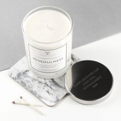 Personalised Mindfulness Luxury Scented Candle