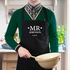 Personalised Mr Cookery Apron