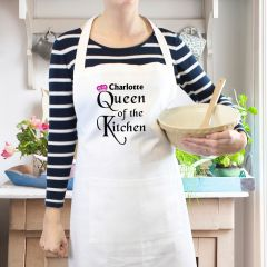 Personalised Queen of the Kitchen Cookery Apron