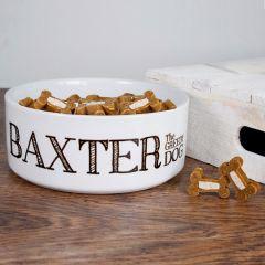 Personalised The Greedy Dog Bowl