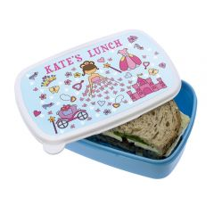 Personalised Pretty Fairy Princess Lunch Box