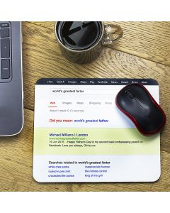 Personalised Web Search Personalised Father's Day Mouse Mat