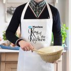 Personalised King of the Kitchen Cookery Apron