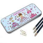 Personalised Pretty Princess Pencil Case
